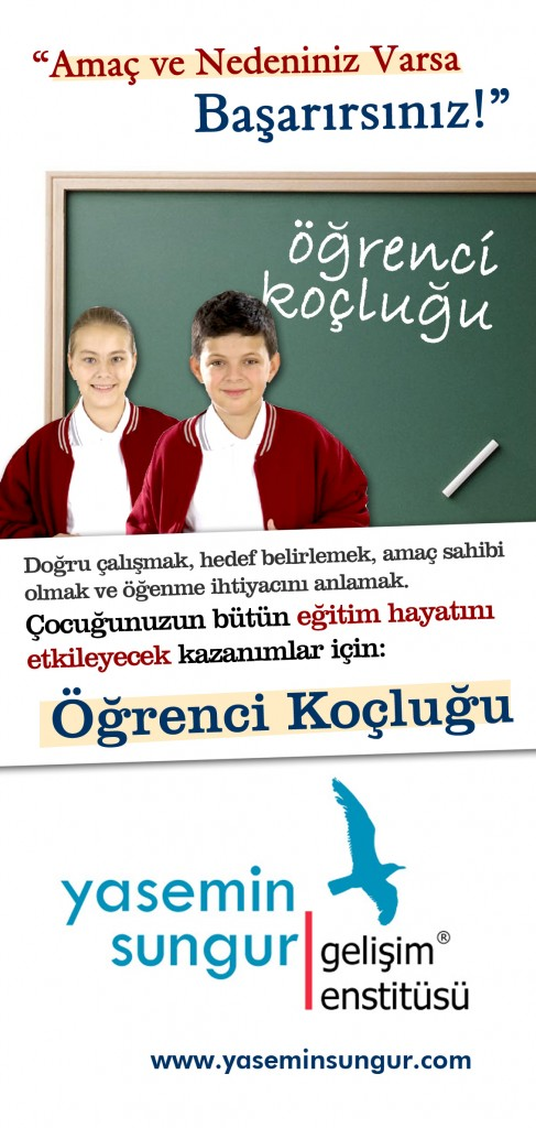 Öğrenci Koçluğu her yaştan öğrenci için gerçekleşen kişiye özel bir programdır.